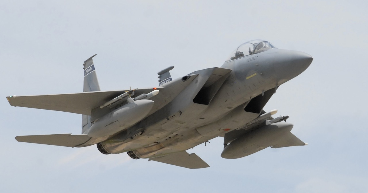 Air Guard F-15 Pilot Investigated for Low Pass