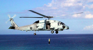 Navy Helicopter Crew Injured During Landing