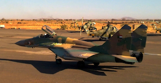 Sudan Air Force Pilot Killed in Crash