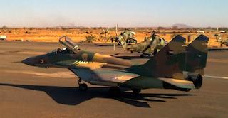 Sudan Air Force Pilot Killed in Crash