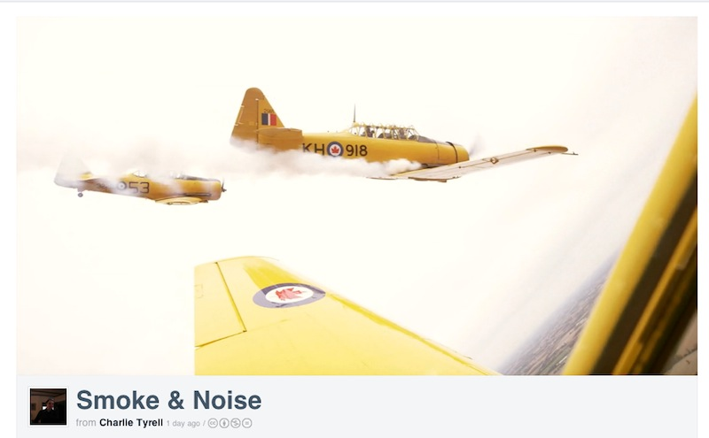 'Smoke & Noise' Highlights Harvard Aerobatic Team