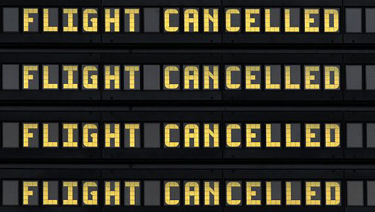 Winter Storm Affects 6,400 Flights