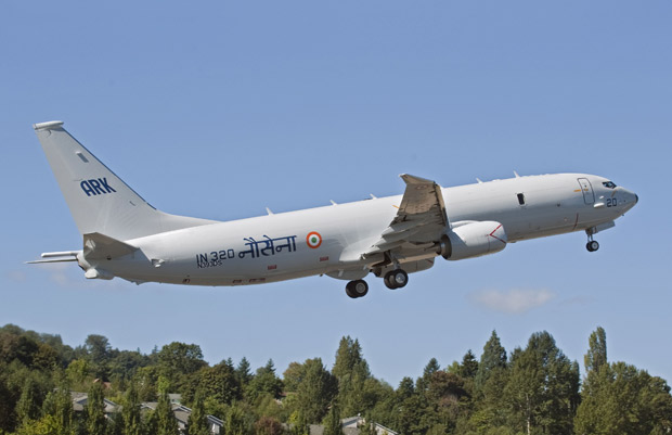 India Receives Boeing P-8I Maritime Jet