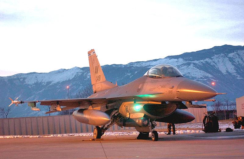 U.S. F-16 Missing Over Adriatic Sea
