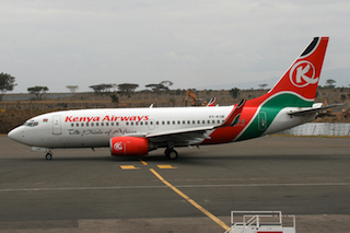 Kenyan Airliner Returns to Sudan After Fire