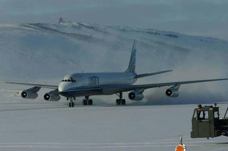 U.S. DC-8 Operations Winding Down