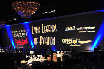 10th Annual Living Legends of Aviation Awards Takes Flight