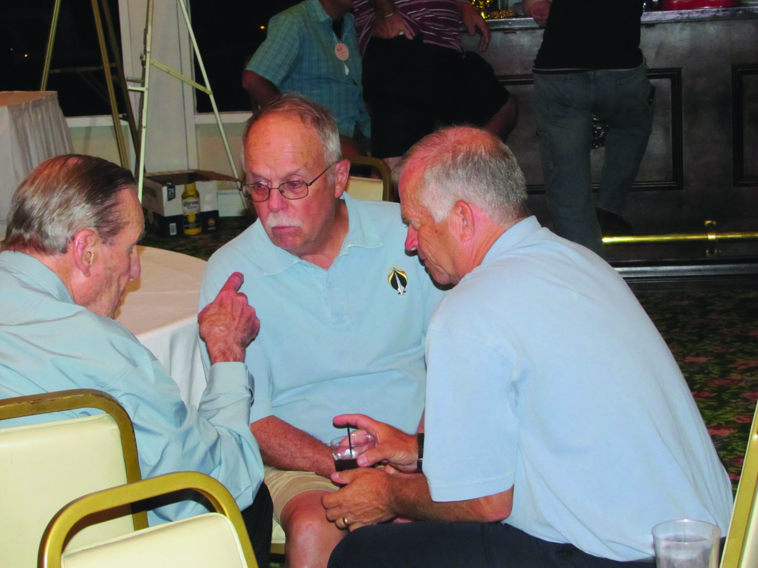 Throughout the reunion, Aces could share experiences with those who truly understood.