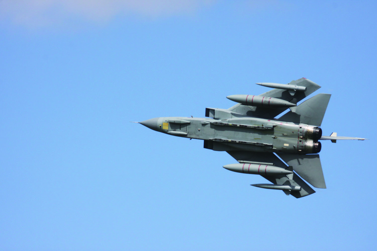 RAF Tornados Retiring, Lightning IIs In
