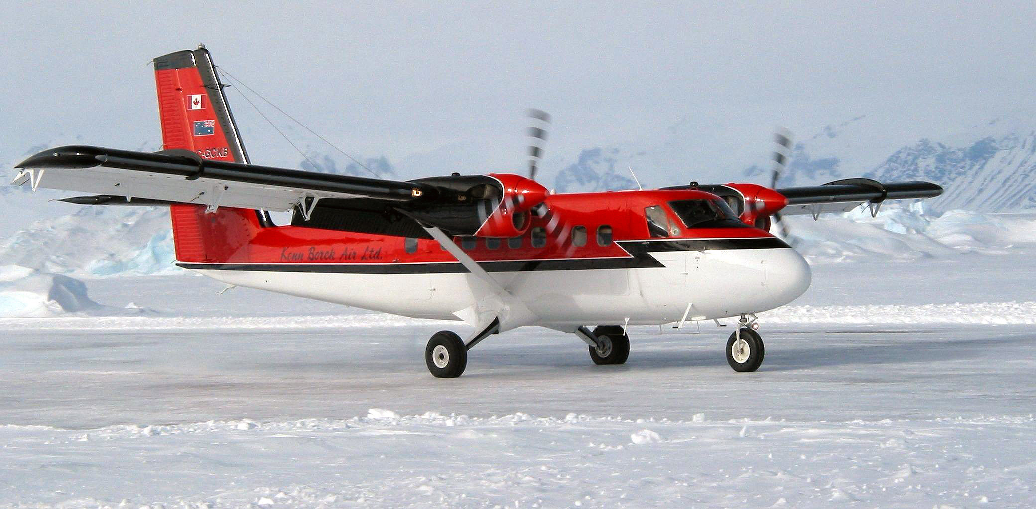 Twin Otter Lost in Antarctica; 3 Missing