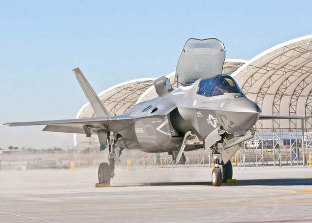 F-35Bs Grounded After Fueldraulic Failure