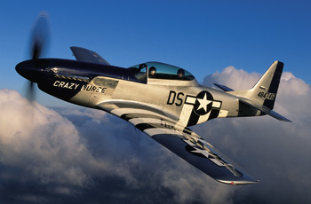 94-year-old WWII Vet Flies P-51 Mustang