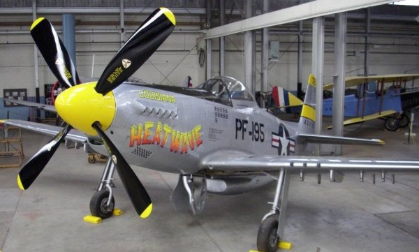 Chanute Museum Prepares for P-51H Debut
