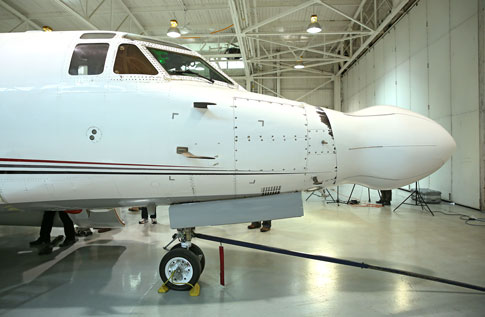 Faithful Sabreliner Test Plane Retired by Rockwell Collins