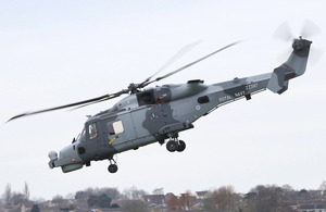 First Royal Navy Wildcat Makes Maiden Flight