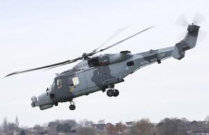 First Royal Navy Wildcat Makes Maiden Flight