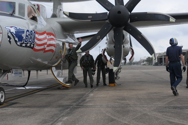 Navy E-2C Hawkeye Squadron Disbanding in Louisiana