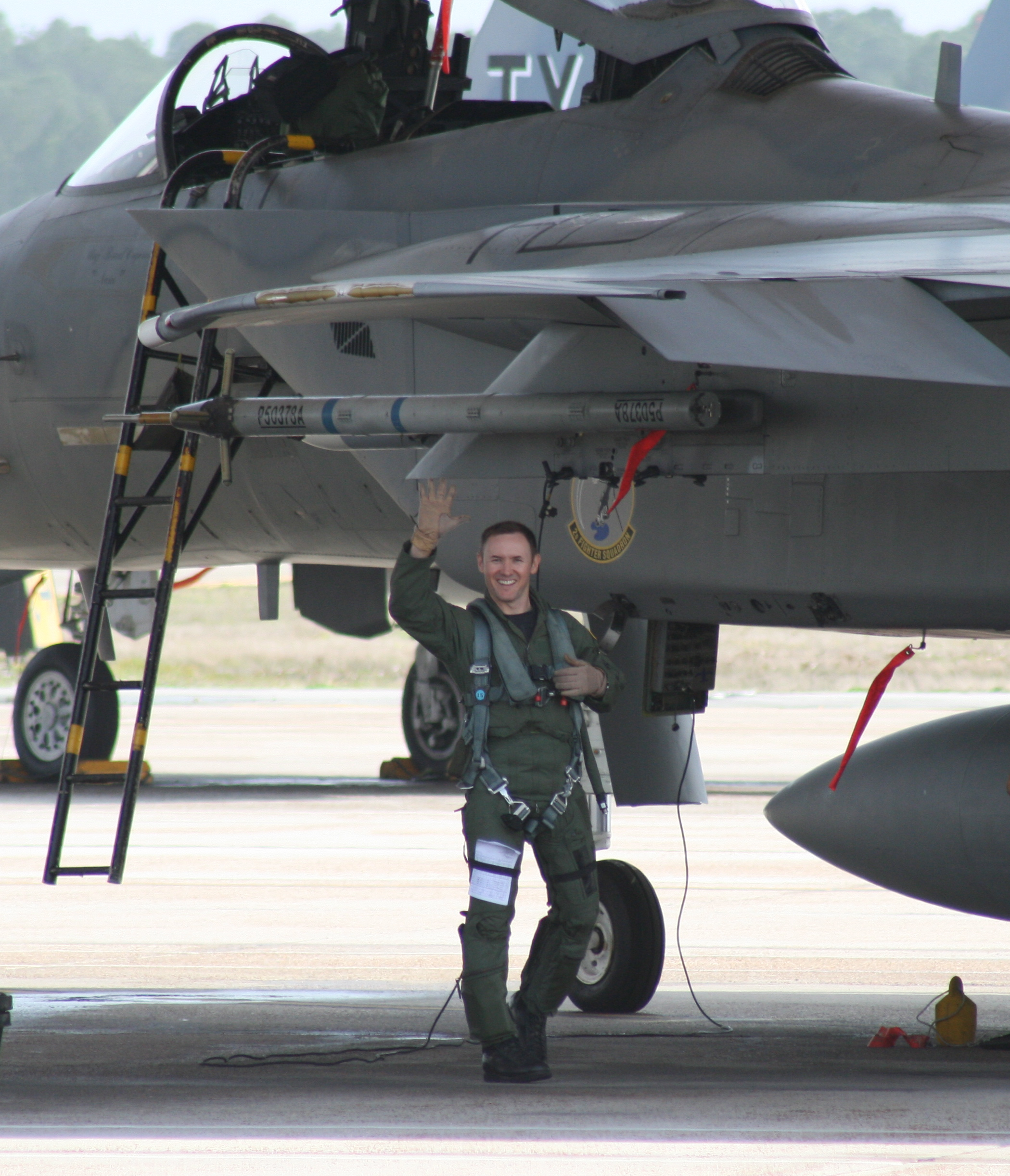 F-22 Pilot Physician Takes Safety to New Heights