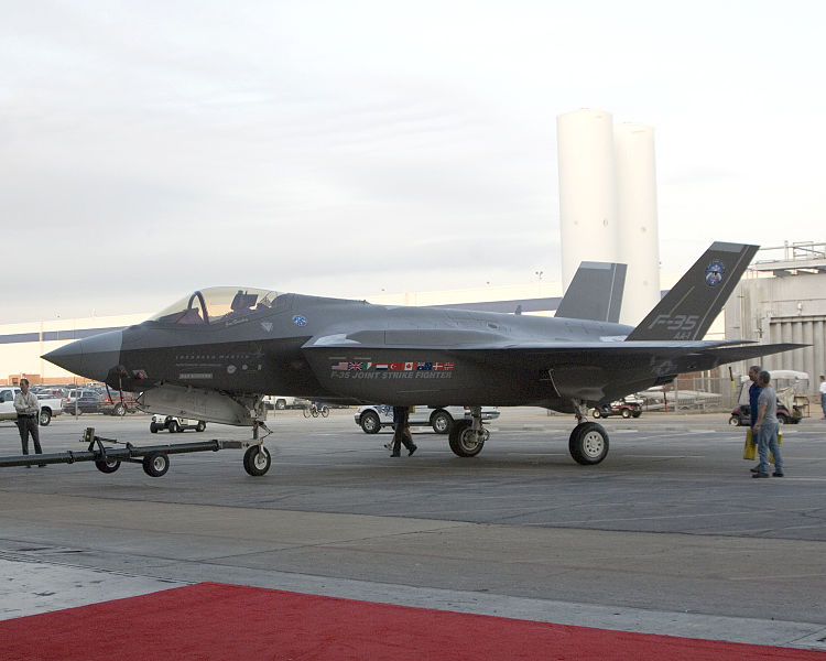 Fledgling F-35 Fleet Grounded After Crack Found