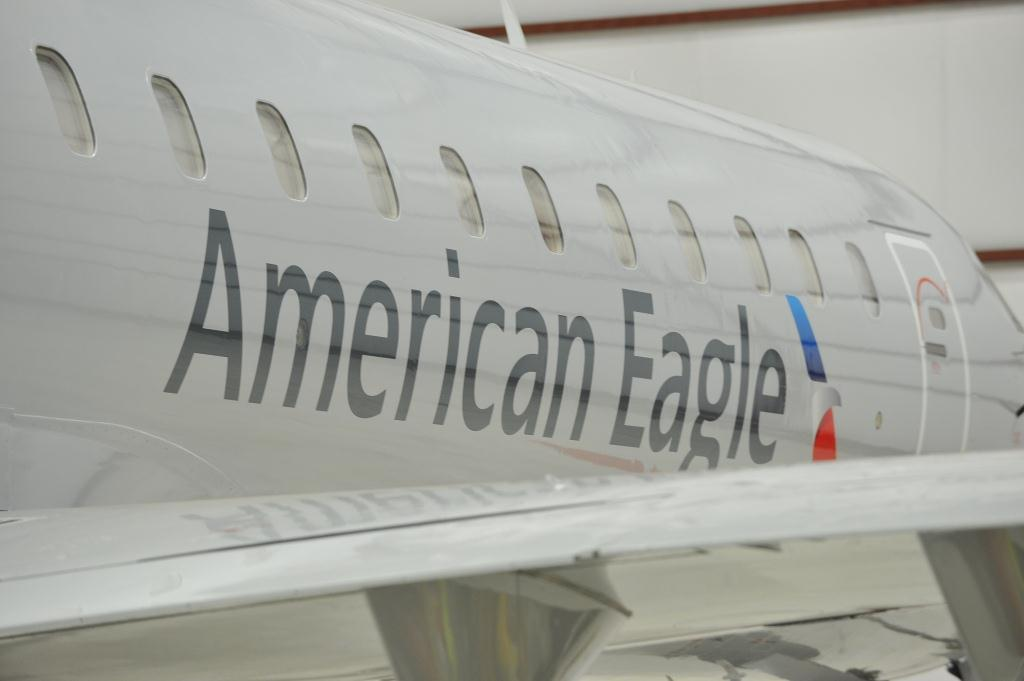 New American Eagle Livery Surprises Few