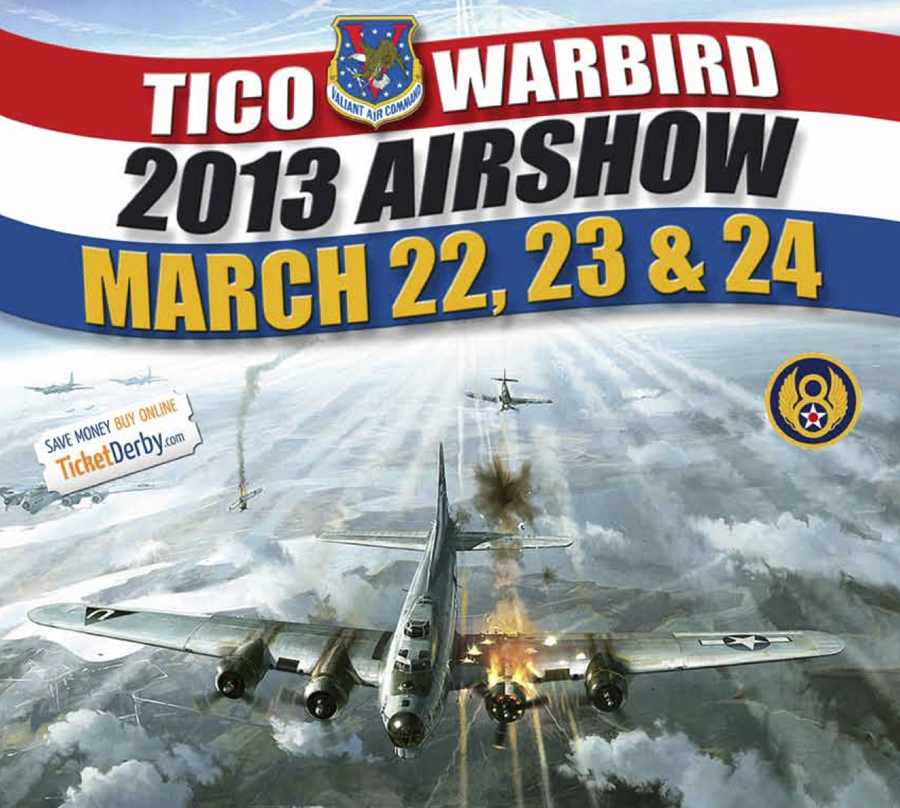 Special Package Available for TiCo Warbird AirShow