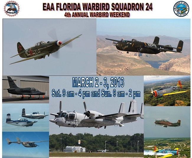 Warbird Weekend Offers Flights and a Show