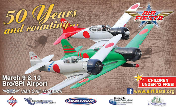 AirFiesta 2013 Celebrates 50 Years of South Texas Air Shows