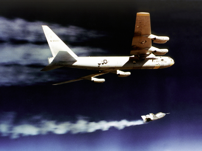 Photo of the Day: NASA's B-52, X-24A