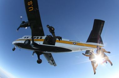 Redstone Arsenal Delivers New Jump Plane to Army's Golden Knights