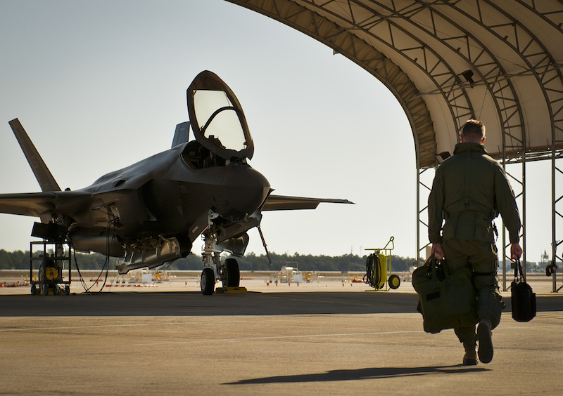 F-35 Student Pilots Fly First Sorties