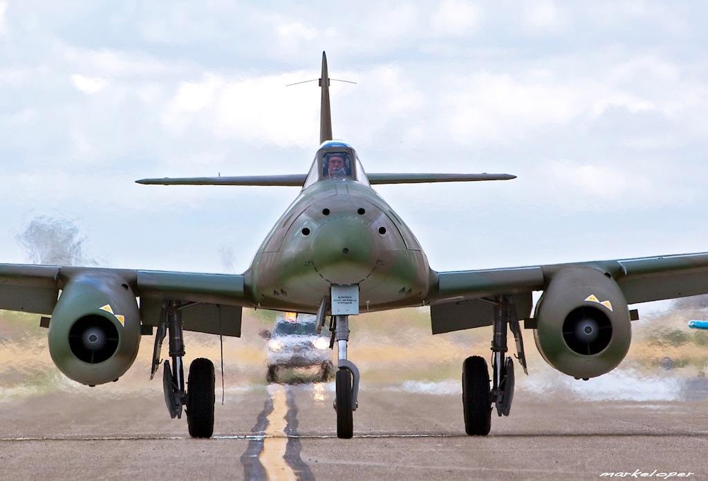Replica Me 262 Makes Air Tour Debut in Texas