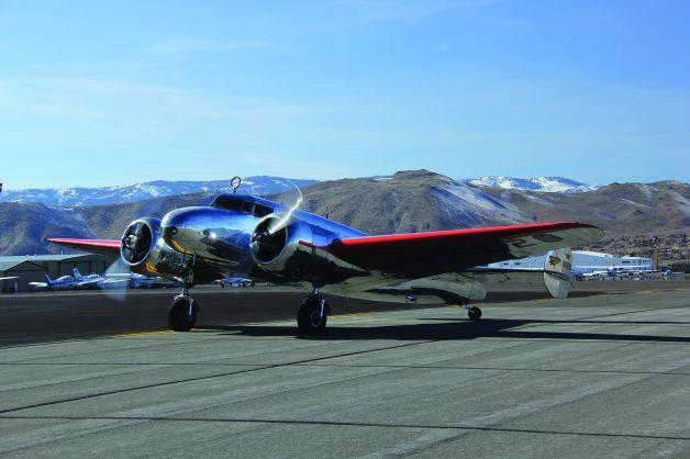 Museum of Flight Adds Replica of Earhart's Plane