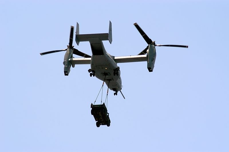 Marines Show Off Controversial Osprey Ahead of Japan Training