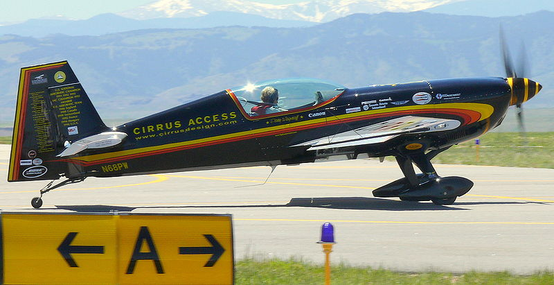Famed Aerobatic Pilot Thrills Academy Students