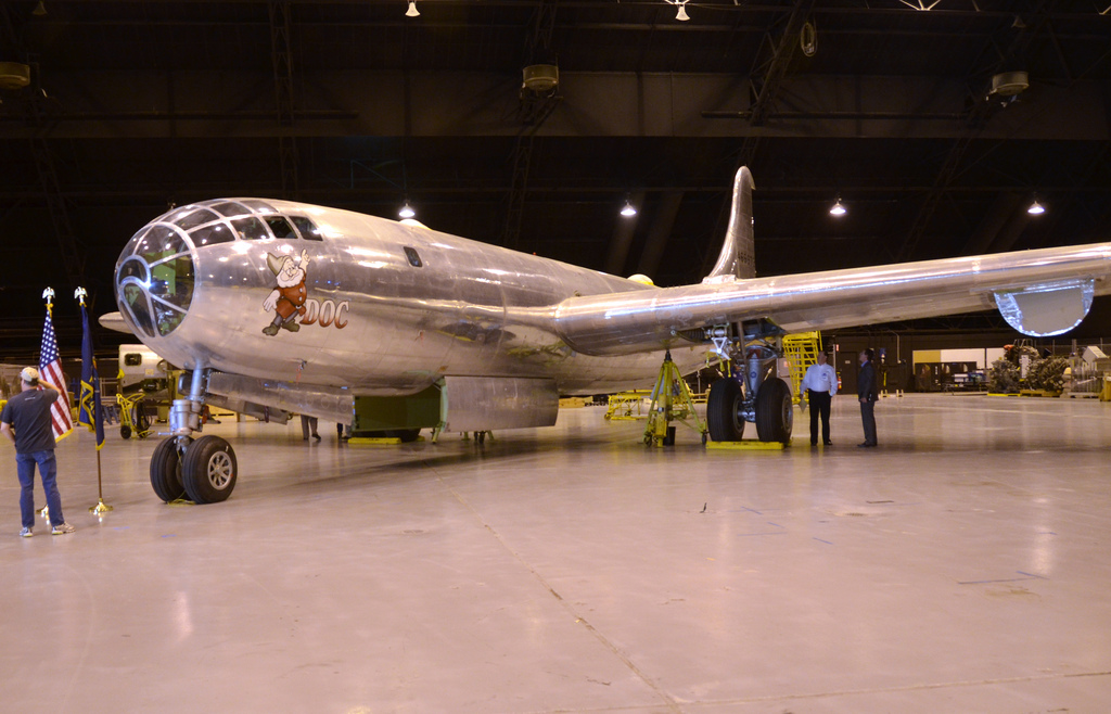 Kansas B-29 Being Restored to Fly