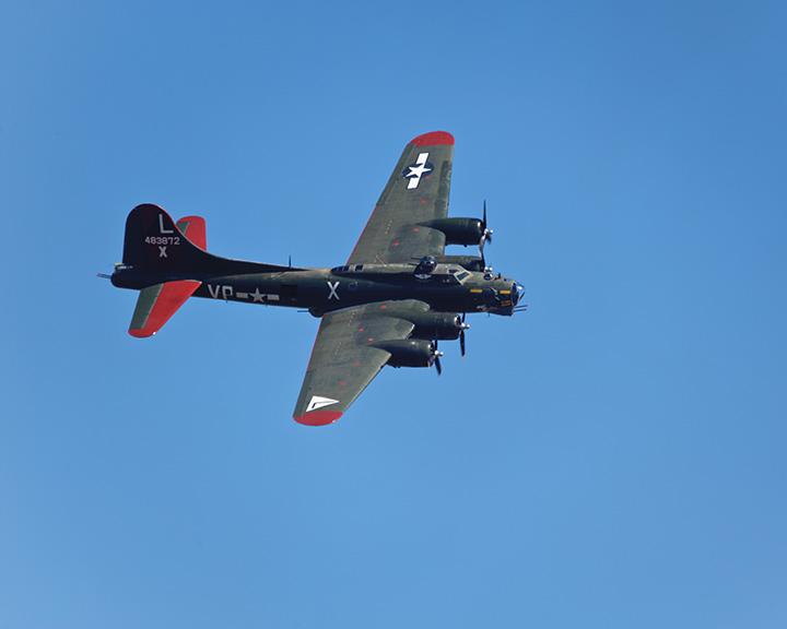 B-17 'Texas Raiders' Headed to Air Fiesta