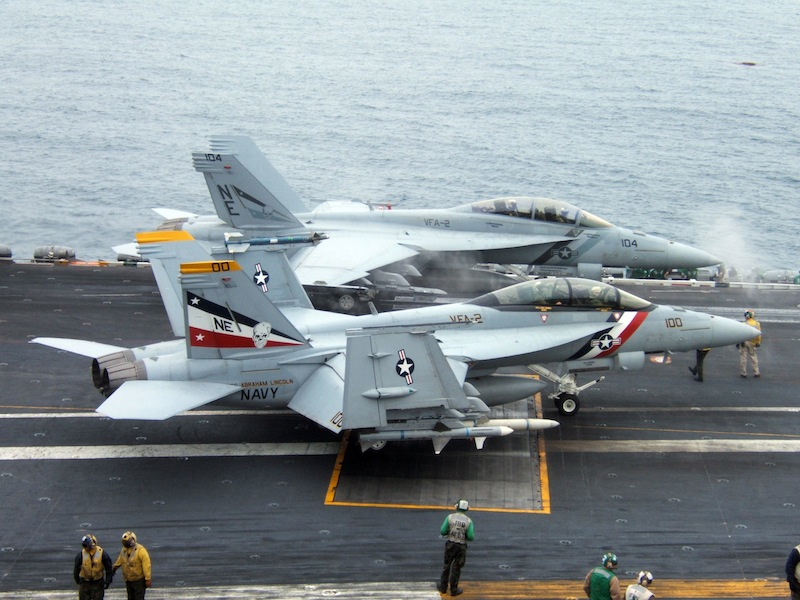 Navy to Cut Four Carrier Air Wings, Training Schedules