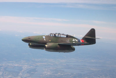 Newly Rebuilt Me 262 Loses Canopy at Texas Airport