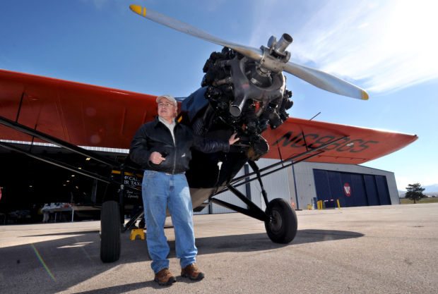 Travel Air Lands at Montana Aviation Museum