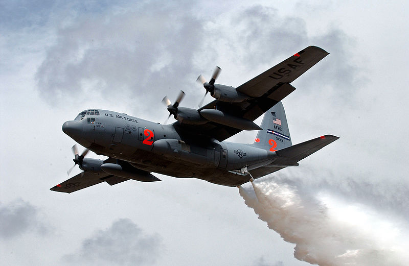 Peterson AFB C-130s Prepare for Summer Wildfires