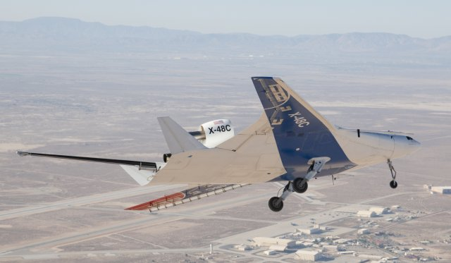 X-48C Research Aircraft Completes Flight Testing