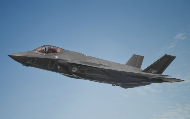 Dutch Government Opts to Store F-35 Test Aircraft