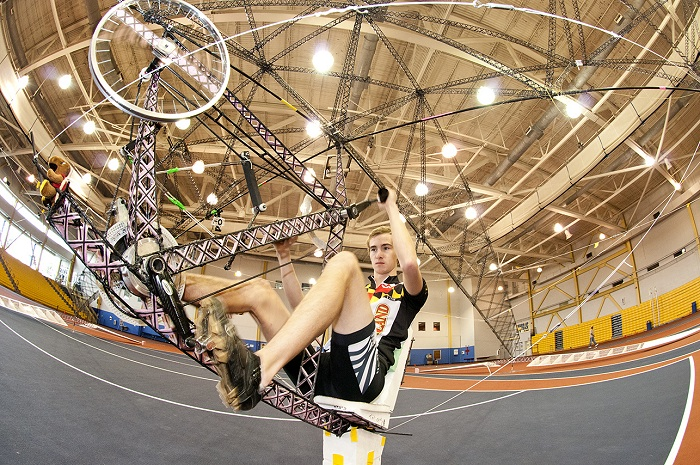 Students Aim for History with Human-Powered Helicopter