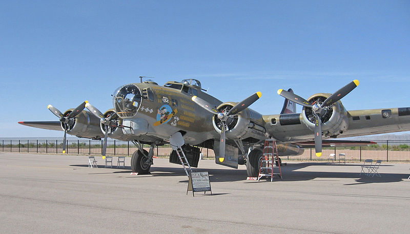 B-17 Star of Bomber Fantasy Camp