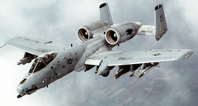 USAF Launches Final A-10 Sortie in Europe