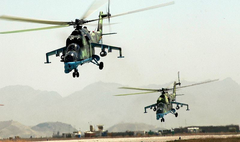 Afghan Pilots Learn Air Assault from Army's 101st