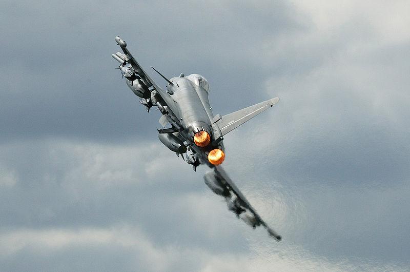 UK Fighters Intercept Pakistani Flight