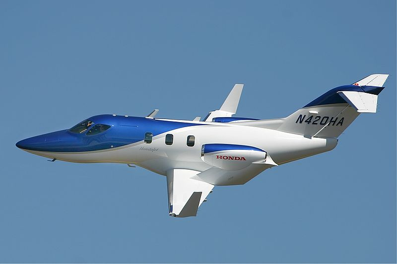 TV Station Takes Rare Look at HondaJet