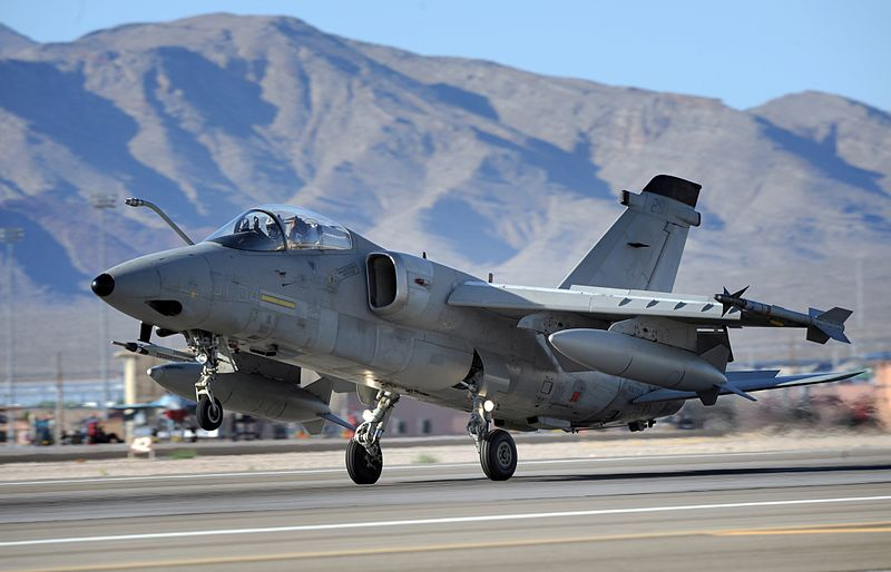 AMX Strike Aircraft Fleet Reaches 200,000 Hours