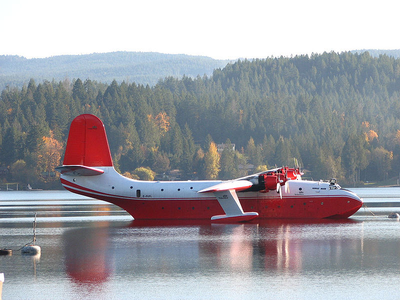 Last Summer for Mars Water Bomber as Canada Province Cuts Contract